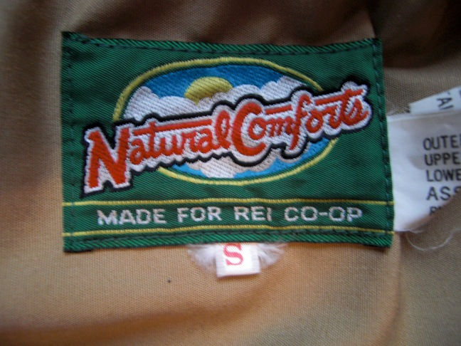 Natural Comfort for REI 60/40 Parka