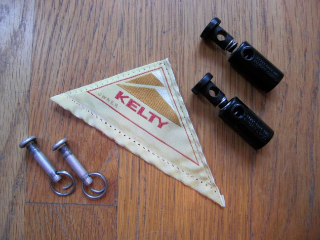 Vintage Kelty Backpack parts