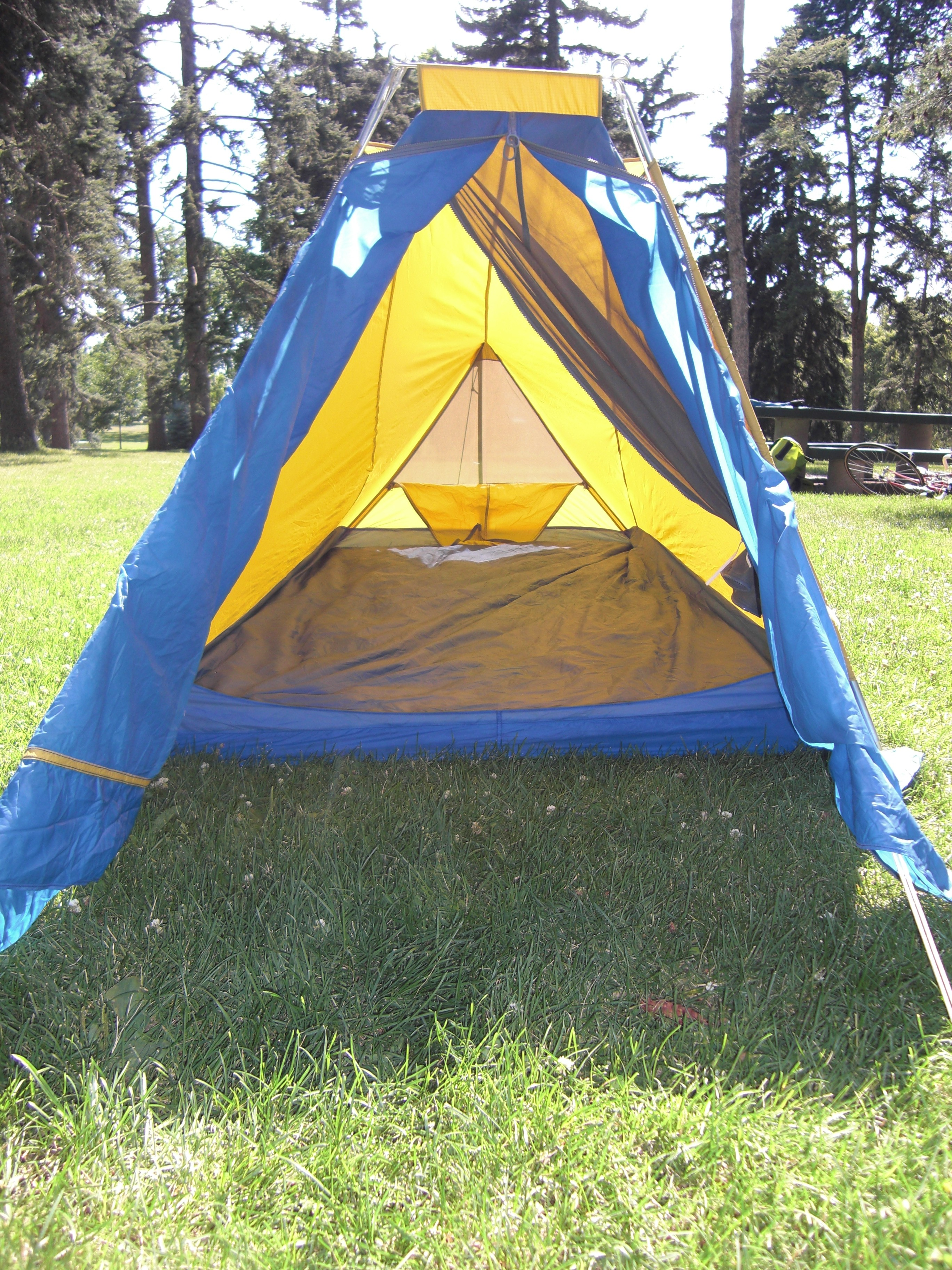 Gerry Single Wall Two Man Backpacking Tent Basecamp Vintage