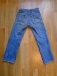Levi's Big E Selvedge Denim 501