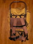 vintage Alpine Designs External Frame Back pack - Plastic Frame