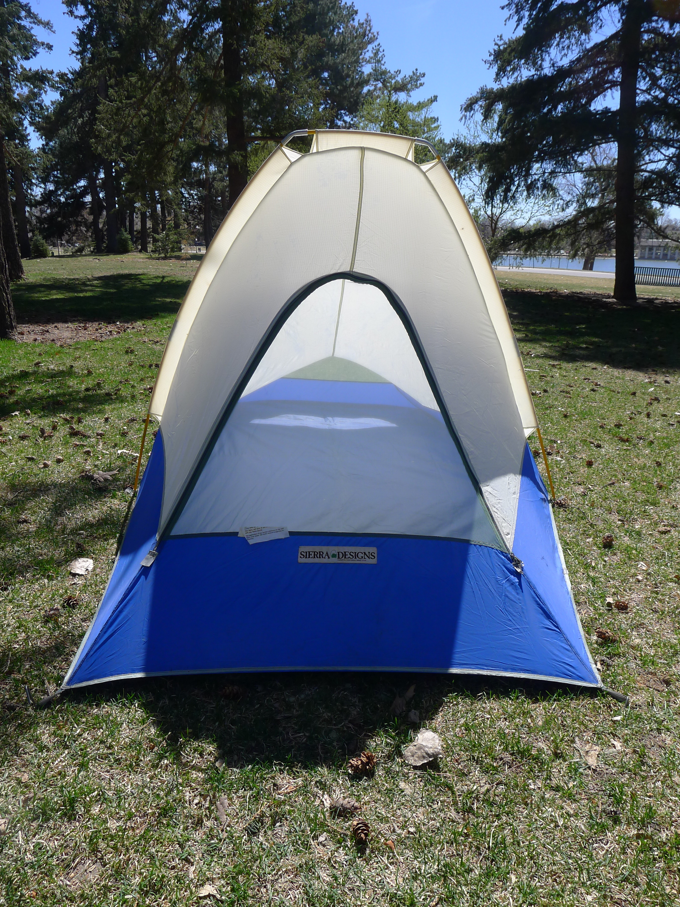 Vintage Sierra Designs single Man Backpacking Tent u2013 Oakland CA Made in the USA : backpacking tents made in usa - memphite.com