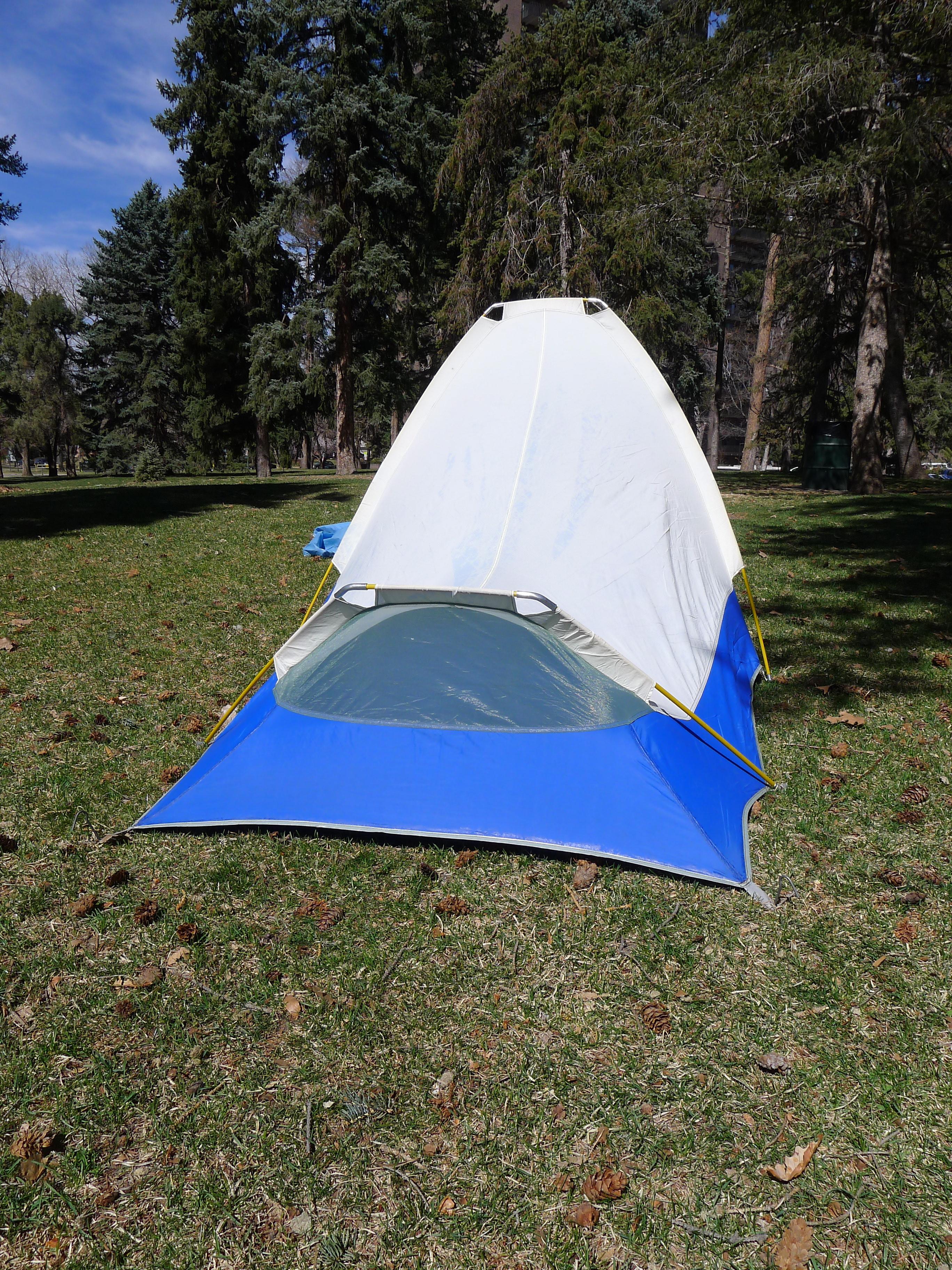 sierra designs single man backpacking tent oakland ca basecamp vintage archives. Black Bedroom Furniture Sets. Home Design Ideas