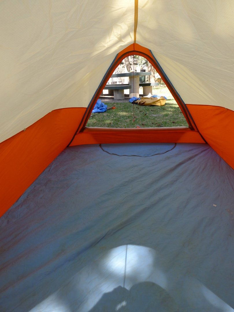 """Alpine Designs """"A"""" Frame Backpacking Tent"""