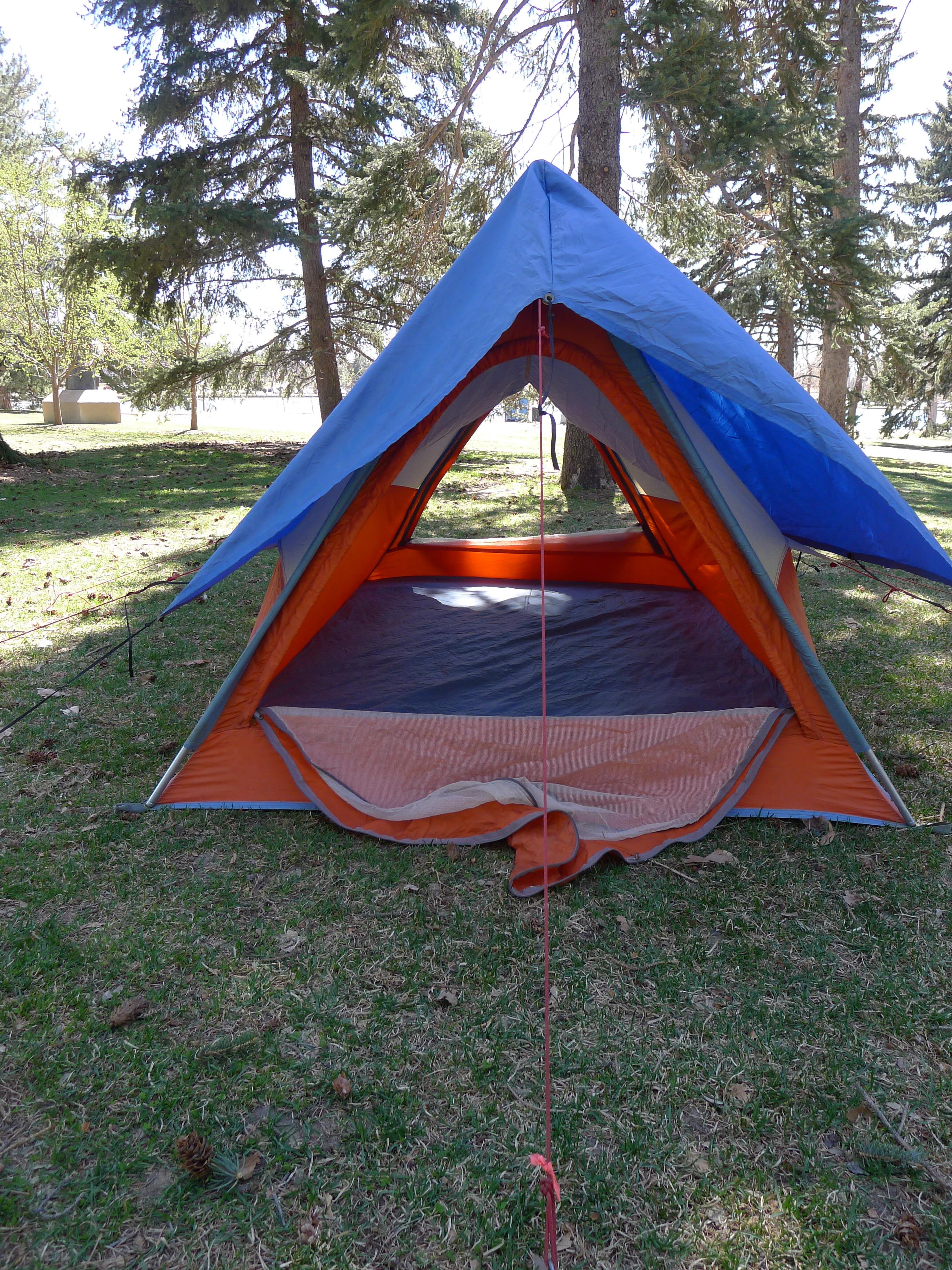 Alpine Designs A Frame Backpacking Tent Basecamp