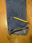 Vintage Levi's 501 Style Big E Selvedge Jeans - Redline single stitched USA
