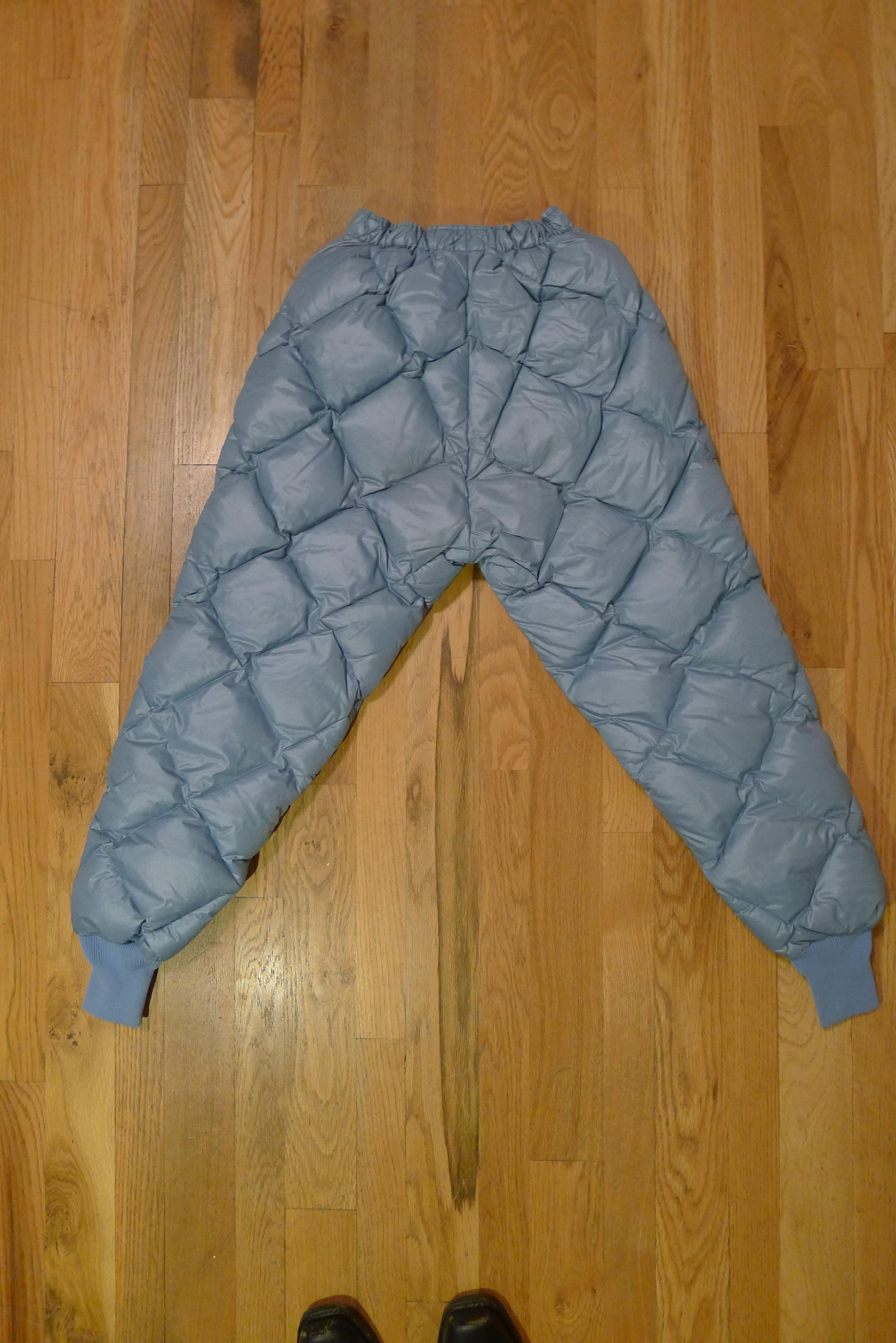 Eddie Bauer – Basecamp Vintage & Archives : quilted insulated underwear - Adamdwight.com