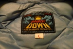 Vintage Eddie Bauer Down Layer - Rising Sun Label thermal underwear
