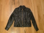 Vintage Vanson Leathers Motorcycle Jacket Boston Mass USA Biker/Cafe