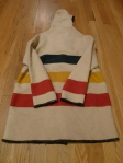 Woolrich Trade Point Wool Jacket - Striped Hudson Bay Blanket