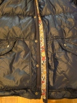 Alpine Designs - Alp Sport Down Jacket Nylon and  Paisley