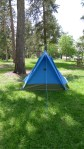 Vintage Cari-Kit (Holubar) two-man backpacking tent