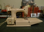 Singer Featherweight Travel Sewing Machine Model 221J - Canada Tan Beige 1961