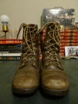 Vintage Herter's Hudson Bay Leather Hunting Work Boots Size 7 D Mens