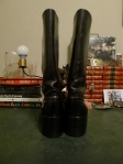 intage Frye Black Label Black Campus Boots Made in the USA 2550
