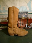 Vintage Frye Black Label Western Boots - Made in the USA Model 2177