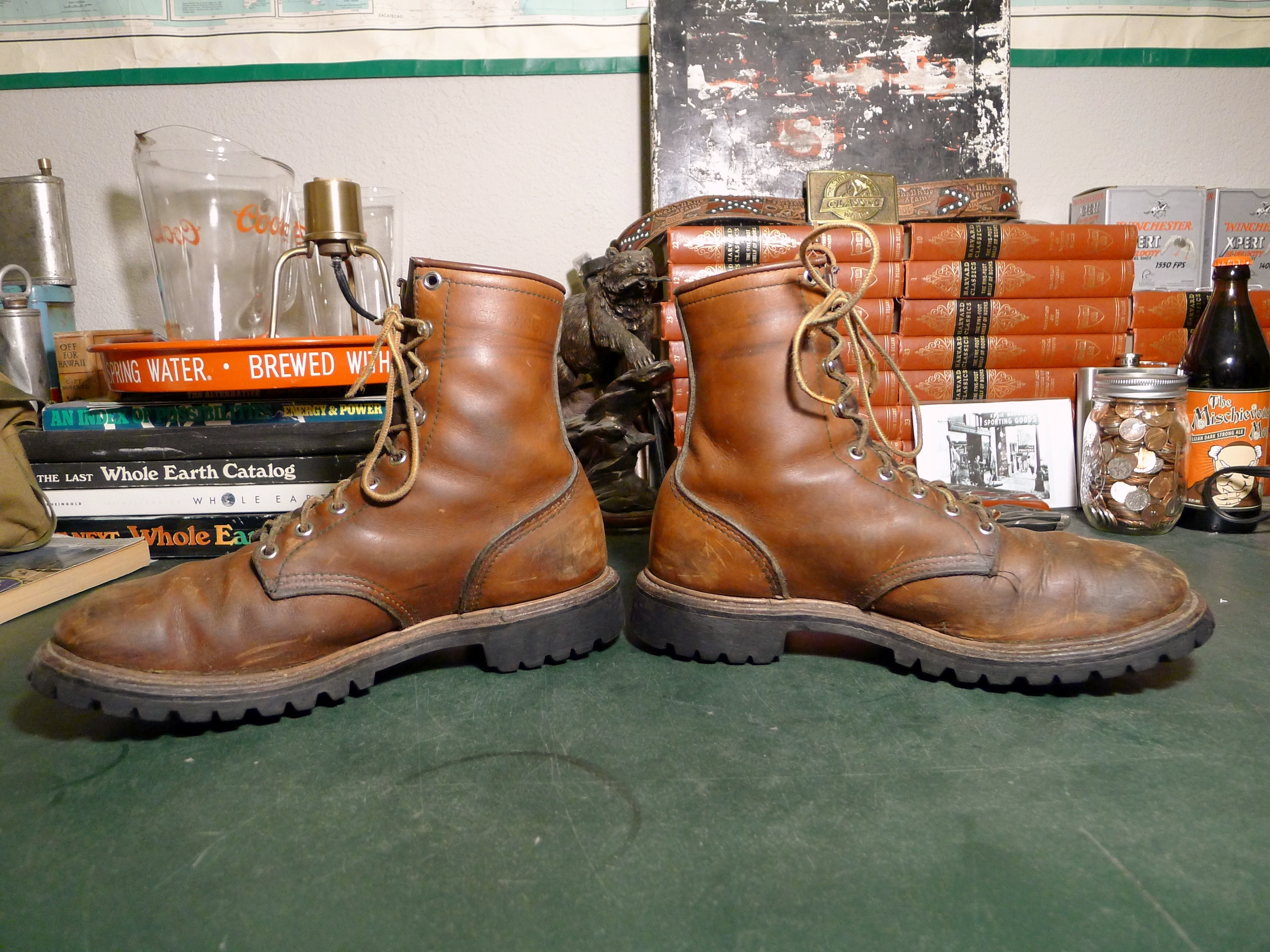 8c8980b9fea Red Wing Irish Setter Sport Boots – Late 1960s – Basecamp Vintage ...