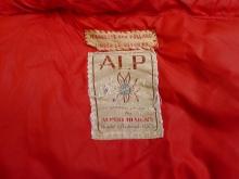 Vintage ALP by Alpine Designs Heavy Down Sleeping Bag.