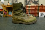 Chippewa Black Label Hunting Motorcycle Boots - Olive Green - 7.5 E Model 2328