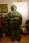 USAF Down Filled Arctic Survival Suit Overcoat
