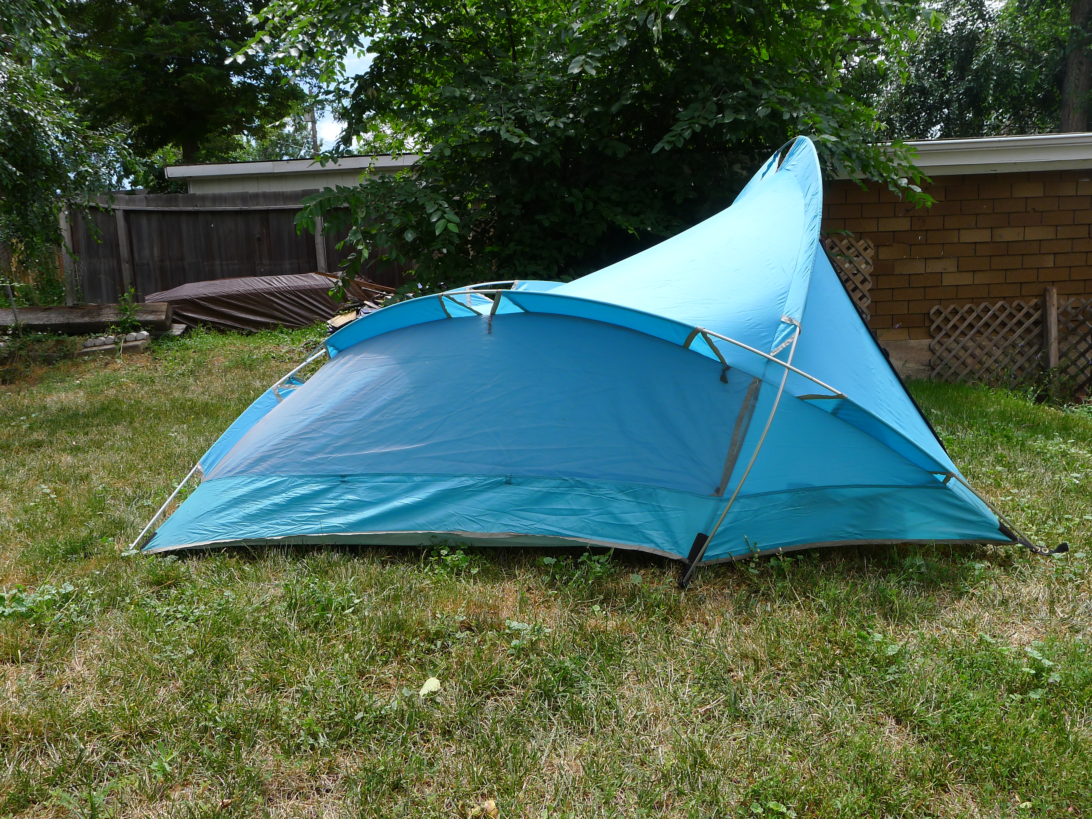 Vintage The North Face Brown Label Bullfrog Two Man Backpacking Tent : backpacking tents made in usa - memphite.com