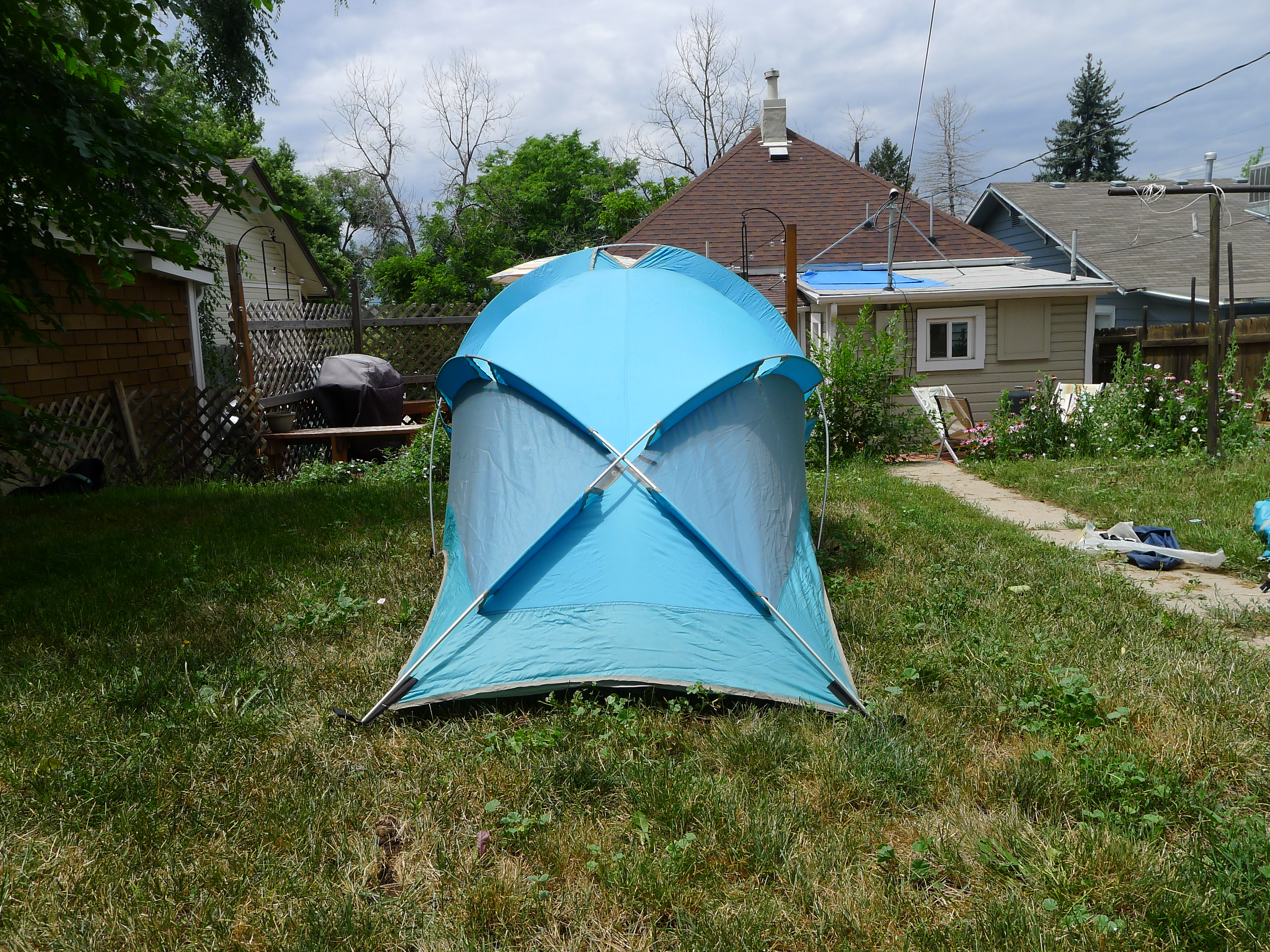 Vintage The North Face Brown Label Bullfrog Two Man Backpacking Tent : north face 2 man tent - memphite.com
