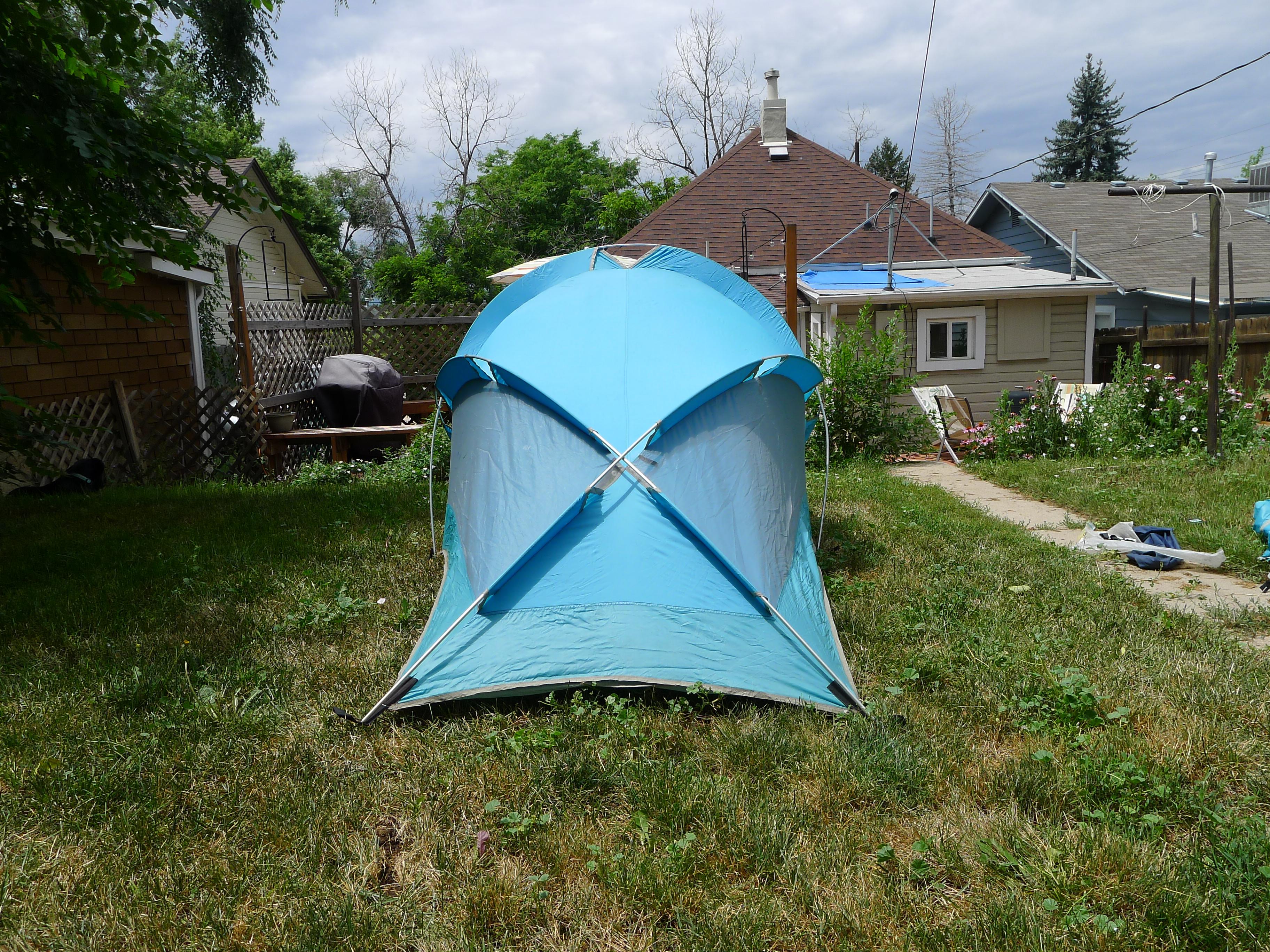 Vintage The North Face Brown Label Bullfrog Two Man Backpacking Tent & backpacking tent u2013 Basecamp Vintage u0026 Archives
