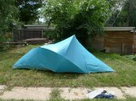 Vintage The North Face Brown Label Bullfrog Two Man Backpacking Tent
