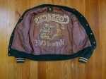 "VINTAGE 1950'S ""COSSACKS"" CAR CLUB HOT ROD WOOL JACKET - GOLDEN BEAR M/L"