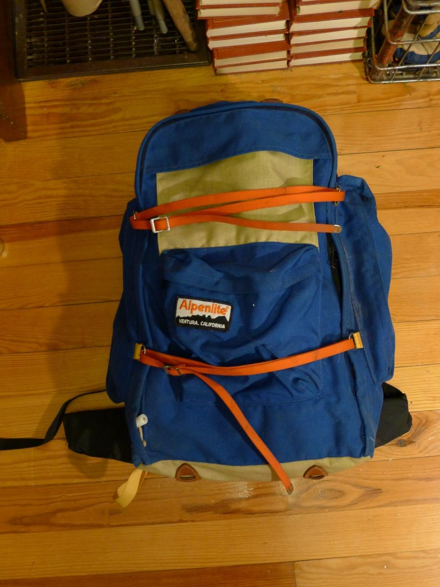 Alpenlite Internal Frame Backpack Ventura California