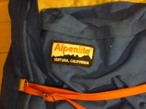 Alpenlite Internal Frame backpack - Ventura, California