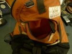 Vintage Gregory Day Pack Backpack Day and a half pack brown label