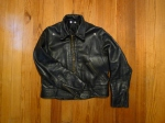 Vintage 1960s Motorcycle Patrol Jacket ~size 42~ Cal Leathers Style.
