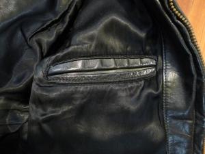 Vintage 1960s Motorcycle Patrol Jacket ~size 42~ Cal Leathers Style.