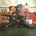 vintage US Army Snowshoe skiing boots