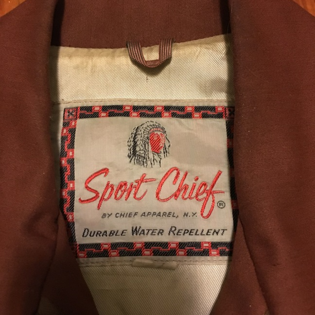 1950s Sport Chief Jacket Size 38 Rockabilly Gabardine