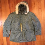 Vintage 1950's USAF type N-3B Flight Crew Jacket. Skyline 8415 Model. XXL