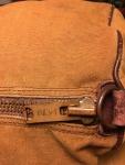 Vintage BEAN LL Bean Canvas and Leather Duffle Bag