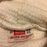 Vintage 1950s/60s Hanes 'Wind Shield' Insulated Sweatshirt