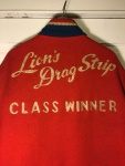 Authentic Vintage Lion's Drag Strip 'Class Winner Jacket' Buddie Original by Alsup Enterprises