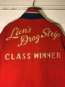 Authentic Vintage Lion's Drag Strip 'Class Winner Jacket' Buddie Original by Alsup Enterprises