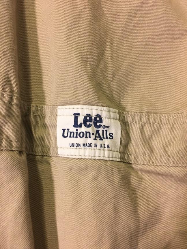 Vintage 1960s Lee Union-alls