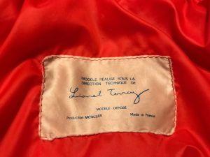 Vintage 1960s Lionel Terray Moncler Duvet Down Coat