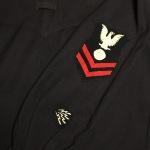 WWI Era US Navy Electrician Mate Shield Patch. Radarman