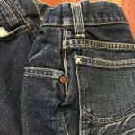 Vintage 1950s Lee Riders Half Selvedge Denim Jeans