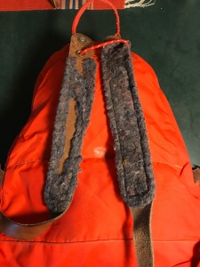 Vintage Back Country Buena Park California Tear Drop Backpack